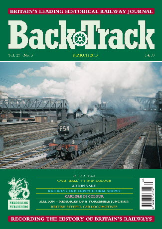 BackTrack Cover March 2013