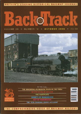 BackTrack Cover October 2006