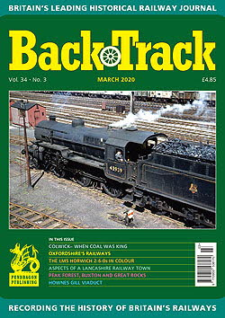 BackTrack Cover March 2020